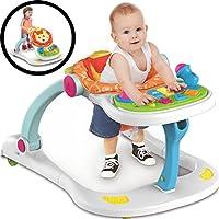 4 in 1 Baby Lauflernhilfe Spielcenter Babywalker