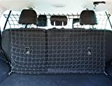 Ferocity Universaler Auto Netz Haustier Barrier Sicherheitsnetz Rücksitz Barriere Trennnetz 120x80 cm [058]