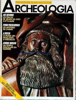 ARCHEOLOGIA [No 201] du 01/04/1985 - ART...