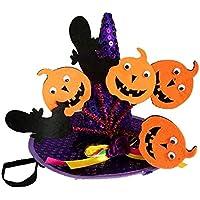BulzEU Pet Halloween Mago Cappello per Gatto e Piccolo Cucciolo di Cane 158f4f8a5bb9