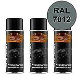 RAL 7012 Basaltgrau Spraydose 3 x 400 ml glänzend schnelltrocknend