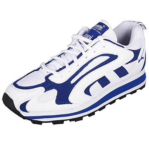 Lakhani Mens Royal Blue Synthetic Sports Shoes - 6