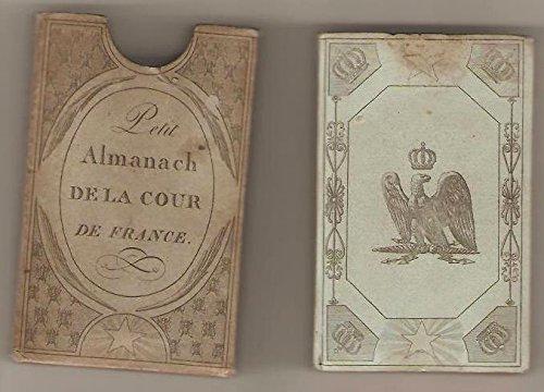 Download Petit Almanach de la Cour de France. Septième année.
