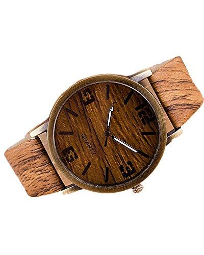 SAMGU Regalo vigilanza dell'orologio della moda di New Grana del legno orologi del quarzo di modo watch