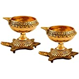 Pooja Brass Diwali Kuber Depak For Puja Home Temple-Diya Oil Lamp (1)