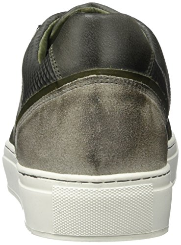 Cycleur De Luxe Hook, Baskets Basses Homme Multicolore - Mehrfarbig (WINTER GREY+ MILITARY GREEN)