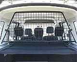 Kleinmetall Masterline Mercedes Citan (Typ W415, 5-Sitzer) + Renault Kangoo II passgenaues Trenngitter / Hundegitter / Gepäckgitter