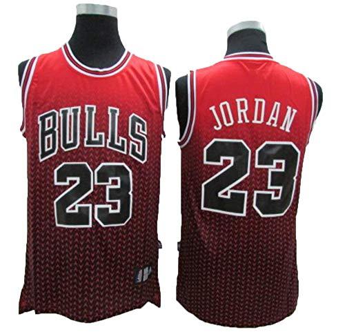 CCKWX Herren Trikot NBA Bulls #23 Michael Jordan Vintage All-Star Jersey, Cool Atmungsaktive Stoff Klassische Ärmellose T-Shirt Basketball Jersey Für Herren Und Unisex,M:175cm/65~75kg -