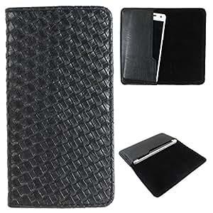 DooDa PU Leather Case Cover For Panasonic Eluga Switch