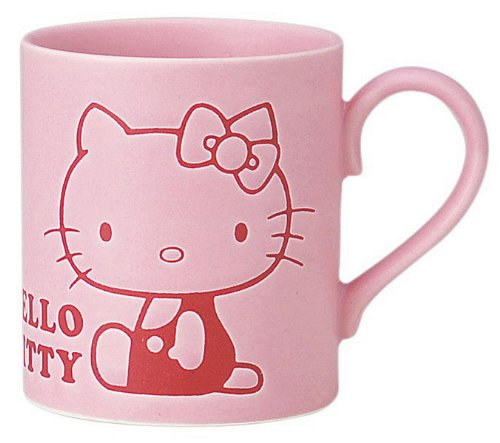 Hello Kitty Hydrofuge Mug Série Mug Rose 308163 (Japan Import)