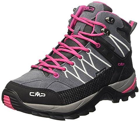 CMP Damen Trekking Schuhe Rigel Mid, grau (grey fuxia ice 103Q), 39, 3Q12946