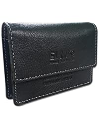EL MIo New Handmade Antique 100% Pure & Natural Genuine Black Leather Fashionable And Stylish Designer 100 Cards...