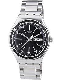 Swatch Herren-Armbanduhr Analog Edelstahl YGS749G