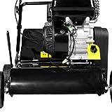 BRAST Benzin Vertikutierer 3,8kW (5,2PS) 40cm Arbeitsbreite 45L Fangkorb 2in1 Rasenlüfter Moosentferner 196ccm - 4