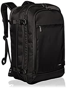 AmazonBasics 46 Ltrs Carry-On Travel Backpack, Black