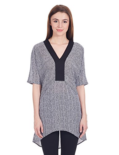 Femella Women's Tunic Vest Top (DS-700739/483/BAW/M)  available at amazon for Rs.255