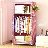 Best Home Double Rod Portable Closet Organizers - NB Clothes closet portable wardrobe closet organizer storage Review