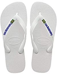 Havaianas Kid's Brazilianasil Logo Flip Flops