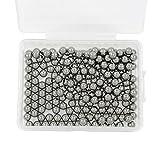 Waykino 200pcs 4.5 mm Cuscinetti a Sfera in Acciaio con Custodia in Plastica per Airsoft e Fionda Perfettamente Rotonda