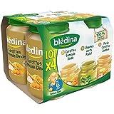 Bledina pots sales lot 4x200g carotte semoule dinde, purée car jambon, leg vr - ( Prix Unitaire ) - Envoi Rapide...