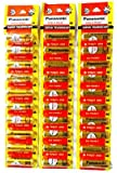 Panasonic . Gold Plus AA Battery is ONLY for WHO Think Smart - Pack of 30 Pieces (Golden)