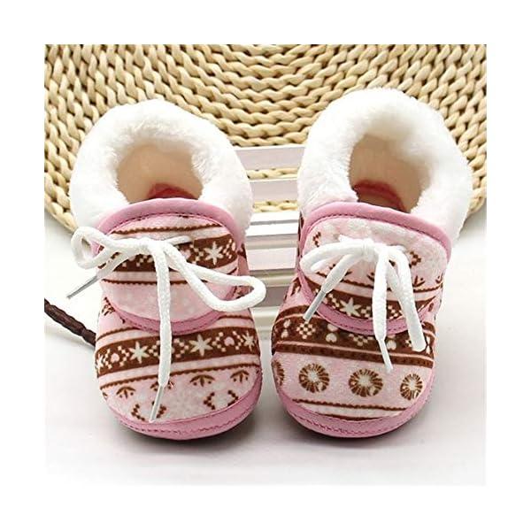 shihao159 Baby Socks Shoes,Keep Warm Slippery Soft bottom Cotton Fabrics Baby's First Step Baby Socks(blue) 5