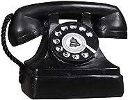 1 Pack Antique Phone Props - Creative Vintage Decorative Phone - Cafe Bar Window Decoration Home Decor - Micro