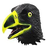 Maschera di Testa di Aquila Calva, Puntelli di Halloween Simbolo Spirituale Aquila Maschera, Costumi Cosplay Decorazione in Lattice libertà Uccello Maschera d'aquila, Maschera Testa di Animale