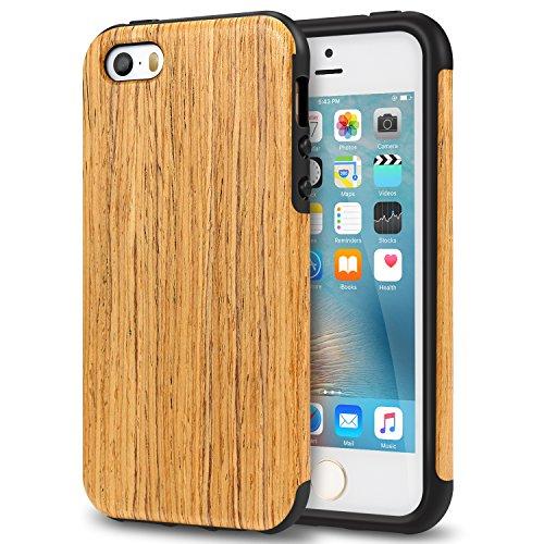 tendlin-funda-iphone-se-grano-de-madera-silicona-tpu-hibrido-suave-carcasa-para-iphone-se-5s-5-santo