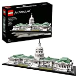 LEGO Architecture - Edificio del capitolio de Estados Unidos, Set de construcción del Emblemático Edificio de Estados Unidos (21030)