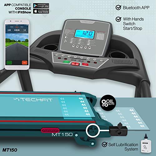 Zoom IMG-2 techfit mt150 tapis roulant motorizzato