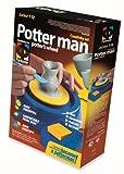 Small Foot by Legler Basteln mit Ton / Töpferscheibe für Kinder mit batteriebetriebener Drehscheibe, ab 6 Jahren