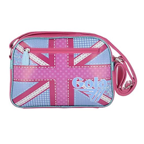 BORSA GOLA MINI REDFORD PATCHWORK UJ DUSTY BLUE HOT PINK