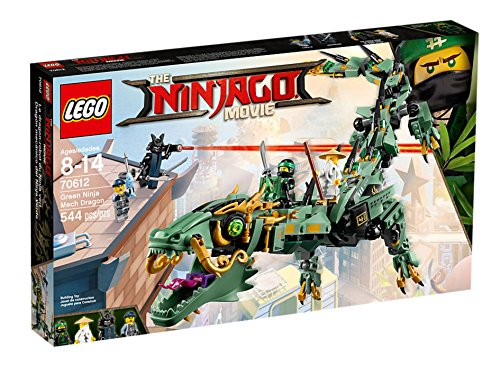 Lego The NINJAGO Movie 70612 Mech-Drache des Grünen Ninja - SOFORT (Grüne Die Ninja)