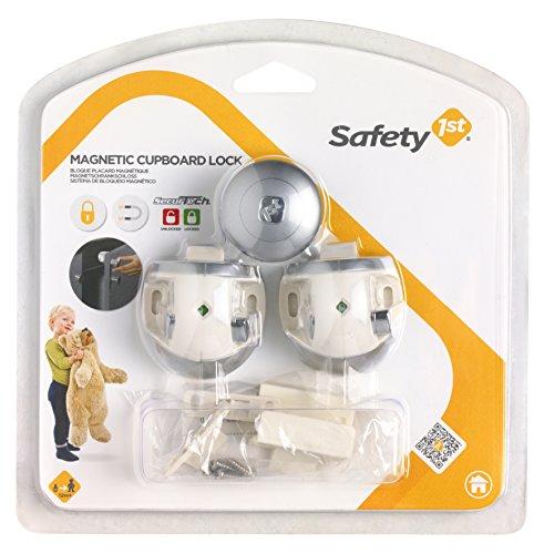 Safety 1st 33110024 Magnetschloss - unsichtbare Sicherung für Schranktüren