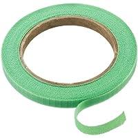Connex Pflanzenbinder Klett 7,5 m, grün / Pflanzenhalter / Softbinder / Baumanbinder / Blumen-Fixierband / FLOR78655