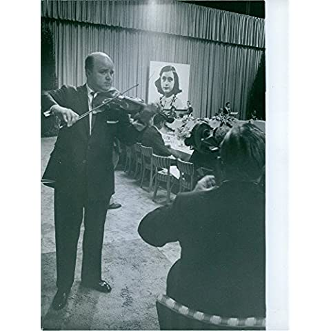 Vintage photo of Vintage photo of a thanksgiving party for the success of Millie Perkins' (Perkins Marine)