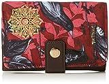 Desigual Mone Lengüeta Birdland CarminDati:o Materiale: 60% poliestere, 40% poliuretanoo Dimensioni: Larghezza 15,5 cm, altezza 10,5 cm, profondità 2,5 cmo Colore: Carmine (rosso)o Fabbricante: Desigual