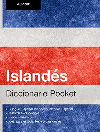 Diccionario Pocket Islandés por Juan Sáenz