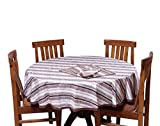 Chhipaprints Round Table Cover Roast Gra...