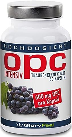 OPC Extrait de Pépins de Raisin Intensivement - La plus