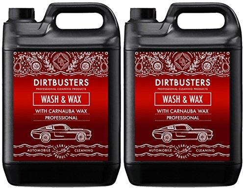 Profi-Autoreiniger mit hochwertigem Carnaubawachs und Alufelgenreiniger für streifenfreie Fahrzeugreinigung, WaschenundWachsenMacht 2000Liter Reinigungslösung.