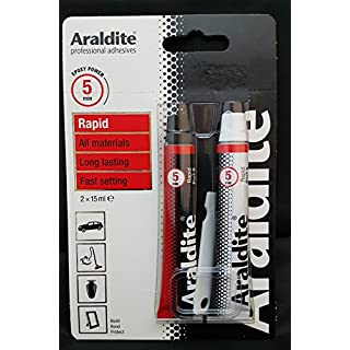 ARALDITE Rapid Epoxy 2 x 15ml Tubes TOP SELLER*** FREEPOST***