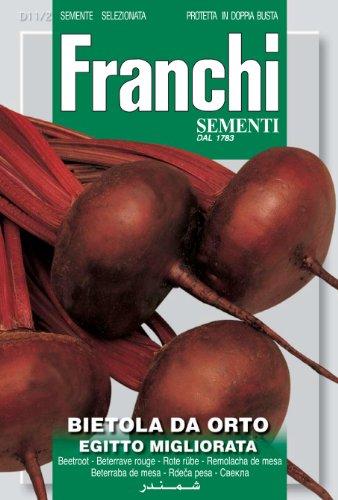 Seeds of Italy Ltd Franchi Betterrave rouge d'Égypte améliorée