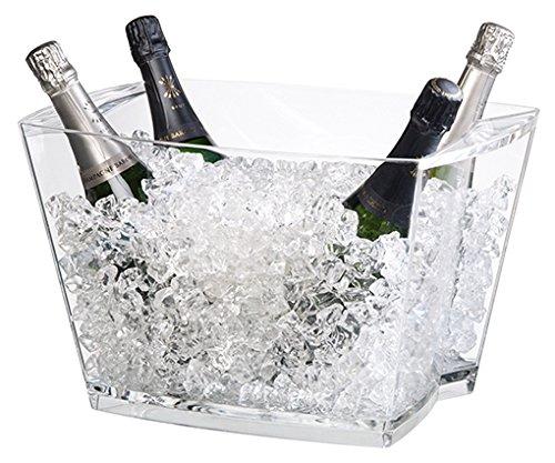 Vasque à champagne Alaska transparente - Verrerie de la Marne