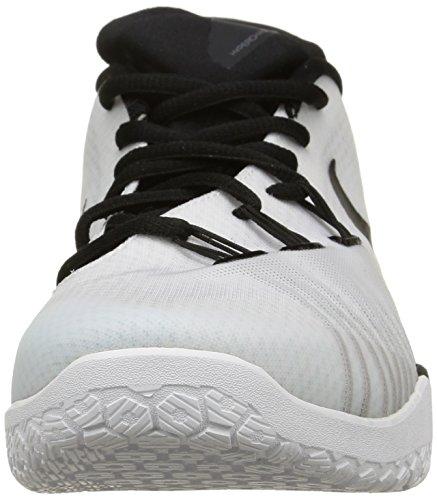Nike  Hyperchase Tb, Baskets pour homme - blanc blanc/noir