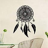 Jixiaosheng Wandtattoo Art Design Aufkleber AufkleberCatcher Dream Feather Günstige Home Decor Bunte Tier Wandbilder Decals
