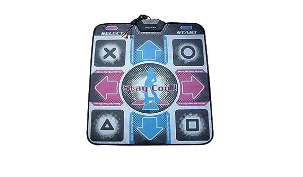 gepolsterte Matte f/ür EIN Arcade-Gef/ühl Lazmin USB Dance Mat Pad elektronisches Musical Playmat Spielzeug PC USB-Tanzmatte