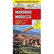 Marco Polo Kontinentalkarte Marokko 1 : 800 000