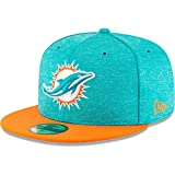 New Era NFL Miami Dolphins Authentic 2018 Sideline 59FIFTY Home Cap